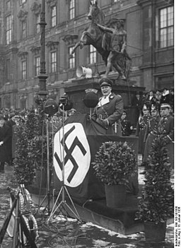 Bundesarchiv Bild 183-S01000, Berlin, Vereidigung des Feldjägerkorps