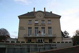 Bures-sur-Yvette - The town hall of Bures-sur-Yvette