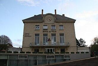 Bures-sur-Yvette - The town hall of Bures-sur-Yvette