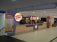 Burger King in Guarujá, Brazil