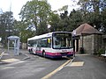 Bus at Knowle Lane terminus, Ecclesall - geograph.org.uk - 3035445.jpg