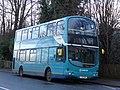 Buses at Tunbridge Wells station, 18 December 2013 (1).jpg