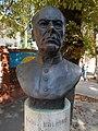 Bust of Adolph Kolping (Pal Farkas, 2005), Pazmany Square, 2016 Szekszard, Hungary.jpg