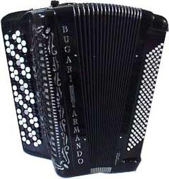 Chromatic button accordion - Image: Button Accordeon