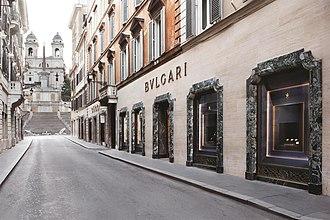 Bulgari - Bulgari Via Condotti flagship store