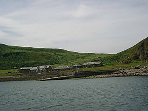 Sanda Island - The Byron Darnton, allegedly the most remote pub in Scotland, named after a local shipwreck