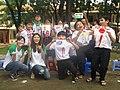 Các bạn trẻ đến từ xứ sở mặt trời mọc dạy học sinh Việt vẽ tranh thể hiện tình hữu nghị Việt – Nhật.jpg