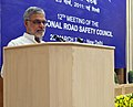 """C.P. Joshi delivering the inaugural address at the """"12th Meeting of the National Road Safety Council (NRSC)"""" organized by the Ministry of Road Transport & Highways, in New Delhi on March 25, 2011.jpg"""