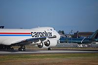 LX-VCD - B748 - Cargolux