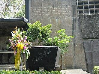 Claro M. Recto - Gravesite of Claro M. Recto at the Manila North Cemetery.