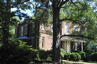 North Carolina Polytechnic Academy - Commandant's House, March 2007