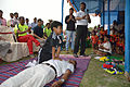 CPR Practice and Explanation - Football Workshop - Nisana Foundation - Sagar Sangha Stadium - Baruipur - South 24 Parganas 2016-02-14 1403.JPG