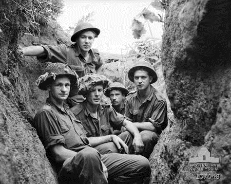 C Coy 2 RAR soldiers on The Hook Jun 1953 (AWM 157648)