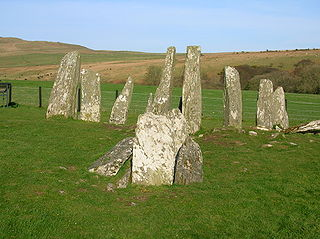 Cairnholy Archaeological site in Scotland