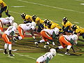 Cal on offense at 2008 Emerald Bowl 03.JPG