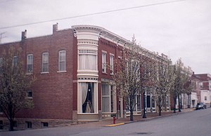 National Register of Historic Places listings in Moniteau County, Missouri - Image: California Gray Wood Bldgs