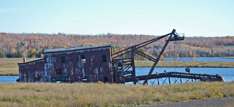 Calumet and Hecla Dredge