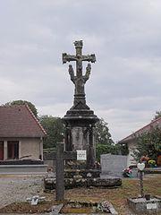 calvaire du cimetière de Chaucenne