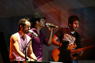 Latin Grammy Award for Best Pop Album by a Duo or Group with Vocals - Mexican band Camila, winners in 2010 for the album Dejarte de Amar