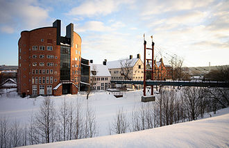Mid Sweden University - Campus in the city of Sundsvall