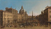 Canaletto - Rome, The Piazza Navona.jpg
