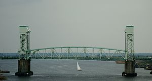 Cape Fear Memorial Bridge - Image: Cape Fear Memorial Bridge 2