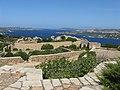Capo d'Orso, dal vecchio fortino, panorama verso la Maddalena - panoramio.jpg