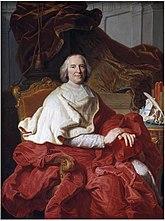 Cardinal de Fleury, painting by Hyacinthe Rigaud, 1730