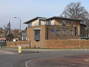 English: Caritas House Opened in March 2005, t...