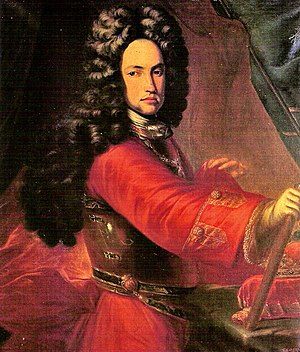 Battle of Villaviciosa - Portrait of the Archduke Charles of Austria