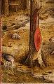 Carlo crivelli, madonna della rondine, post 1490, da s. francesco a matelica, predella 03 cappello.jpg