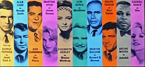 """The Carpetbaggers (film) - Screenshot from trailer for """"The Carpetbaggers"""" (1964)"""