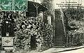 Carte postale - 105 - SURESNES - escalier rustique conduisant à la Gare Longchamp - Recto.jpg