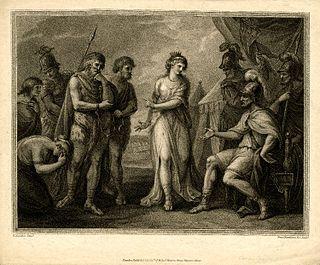 Cartimandua 1st century AD Queen of the Brigantes in northern England