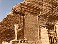 Carved Hieroglyphs, The Great Temple of Ramses II, Abu Simbel, AG, EGY (48017000833).jpg