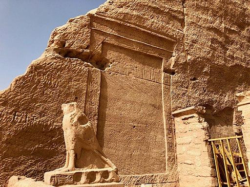 Carved Hieroglyphs, The Great Temple of Ramses II, Abu Simbel, AG, EGY (48017000833)