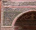 Casa della fontana piccola, cortile con affreschi e fontana mosaicata 05 delfino.jpg