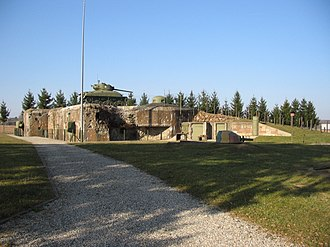 Fortified Sector of Haguenau - Casemate d'Esch, now a museum
