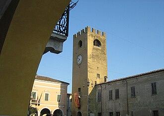 Castel Goffredo - Image: Castel Goffredo Piazza Mazzini