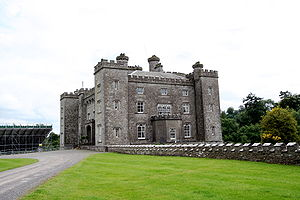The Unforgettable Fire - The first phase of recording took place in Slane Castle.