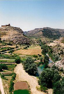 Castillo y Río Cabriel