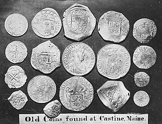 Castine Hoard - Image: Castine Coins