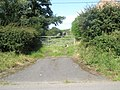 Cat by a gate at Hope Bowdler - geograph.org.uk - 1446058.jpg