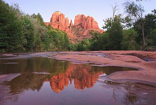 """<a href=""""http://search.lycos.com/web/?_z=0&q=%22Cathedral%20Rock%22"""">Cathedral Rock</a> in September 2009, from <a href=""""http://search.lycos.com/web/?_z=0&q=%22Red%20Rock%20Crossing%22"""">Red Rock Crossing</a>"""