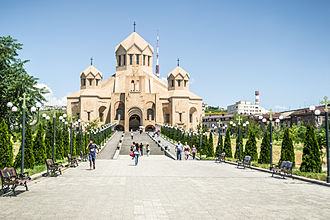 Saint Gregory the Illuminator Cathedral, Yerevan - General view of the Cathedral of Saint Gregory the Illuminator