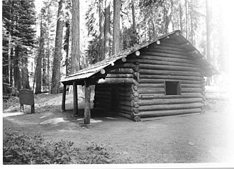 Cattle Cabin - Image: Cattle Cabin Sequoia NP