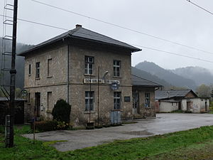 Cazin - Cazin Srbljani (Railway station)