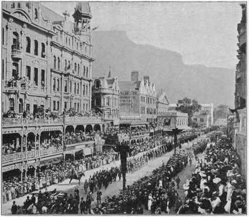 Cecil Rhodes funeral