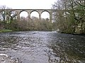 Cefn railway viaduct over river Dee - geograph.org.uk - 36219.jpg