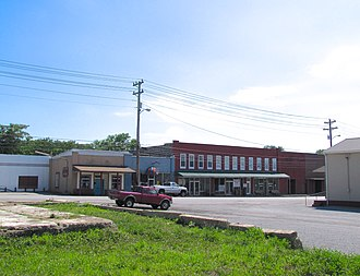 Celina, Tennessee - Businesses along Lake Avenue